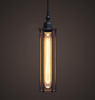 Free shipping 5061S American style Edison vintage tube ceiling lamp/ Pendant lighting(China (Mainland))