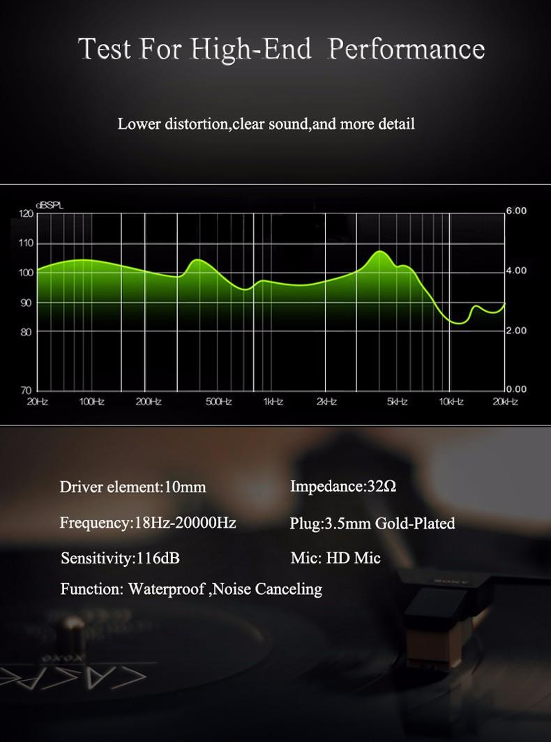 Sport Headphones Running Waterproof Earphone Headphones Sweatproof Stereo Super Bass Subwoofer Headset With For All Phone