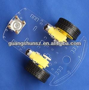 Motor Smart Robot Car Chassis Kit Speed Encoder Battery Box For Arduino Free Shipping