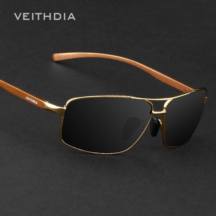 Мужские солнцезащитные очки VEITHDIA 2015 Wayfarer Eeywear 2458 мужские солнцезащитные очки new 2015 wayfarer g0023