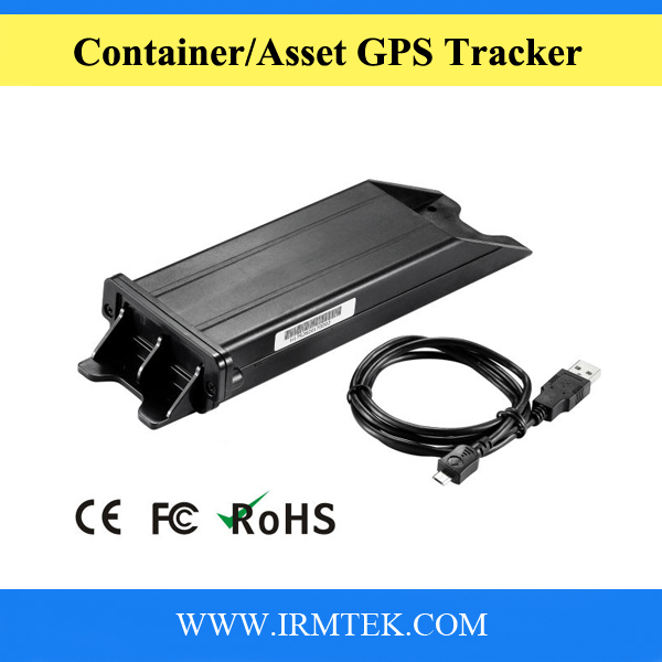 IP65 Rated Long Life Battery 3G Container GPS Tracker for Trailer Valuables With Free Tracking Platform(China (Mainland))