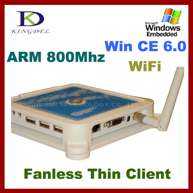 Thin Client PC Share Terminal Win7 +Net computer supporting touchscreen Station PC+Mic+USB printer+Wifi zero thin client(Hong Kong)