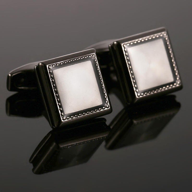 2017 New AAA Quality Mirror Cufflinks Men French Excellent Cuff links Wholesale 51476