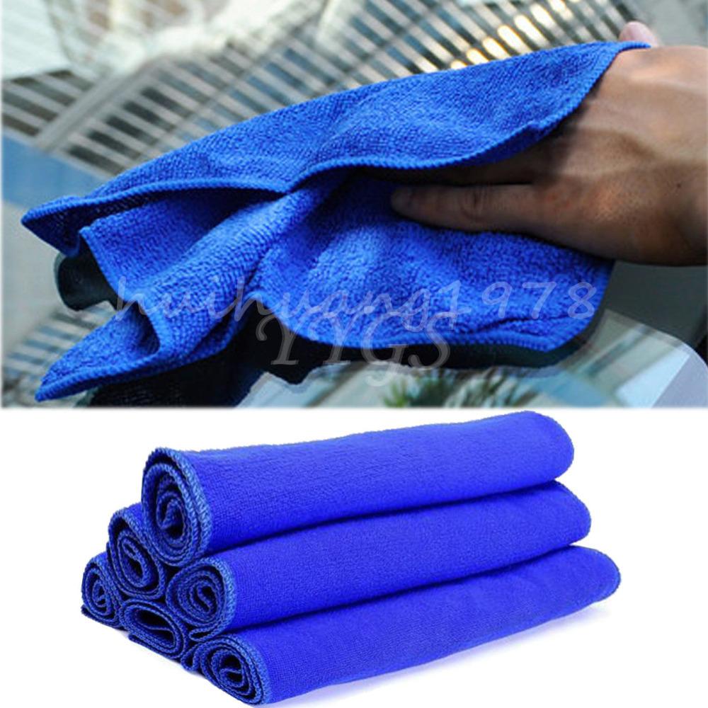 5x Microfiber Deep Plush Car Towel Car Washing Towel Cleaning Detail Dry Cloths Towel 70 X 30CM(China (Mainland))