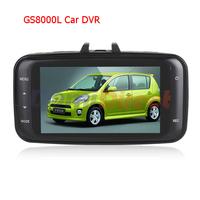 HOT Original Novatek GS8000L 2.7'' lcd Screen Car DVR Full hd 1080p Car Video Recorder Vehicle Camera with G-sensor HDMI Car dvr