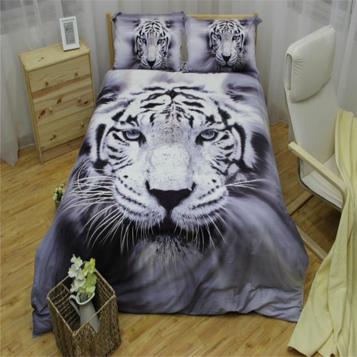 achetez en gros couvre lit tigre en ligne des grossistes couvre lit tigre chinois aliexpress. Black Bedroom Furniture Sets. Home Design Ideas