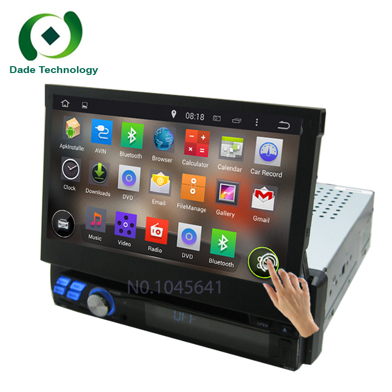 RK3188 Quad-Core CPU Pure Android 5.1 1 din Universal car dvd player Android 5.1.1 car audio stereo HD Capacitive GPS car radio(China (Mainland))