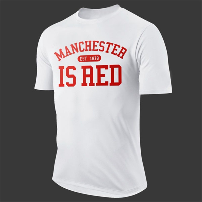 United Kingdom Red Letter Print T Shirt Men Cotton Manchester Fitness Sport T-Shirt Camisa Masculina tee Brand Clothing AMD261(China (Mainland))