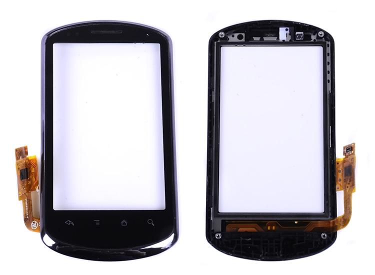 Здесь можно купить  touch screen digitizer for Huawei u8800 IDEOS X5 C8800 touch with frame New and original 50 pic/lot free shipping fedex 3-7 days  Телефоны и Телекоммуникации