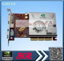 Nvidia grpahics карты AGP карты FX5500 256 МБ 128bit ddr