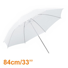 33″ 84cm Soft White Umbrella Photography Studio Flash Translucent Diffuser Umbrella Photo Studio Accessories High-Quality