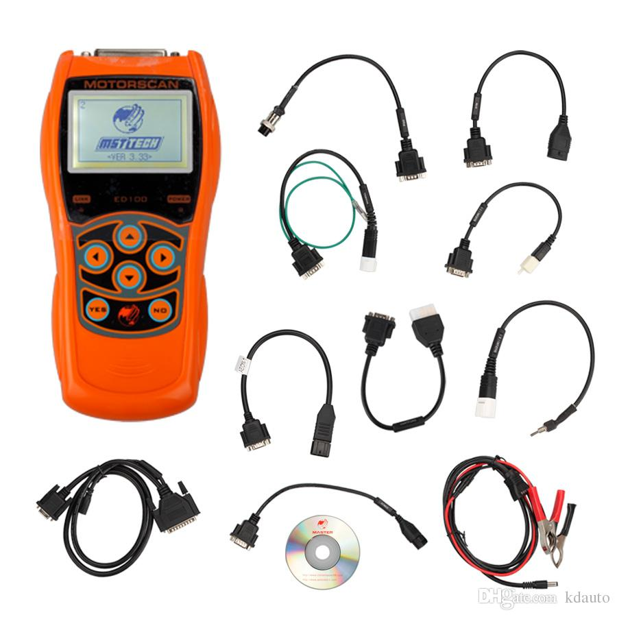 ED100 Motorcycle Scan Tool 6 in 1 Handheld Motor Diagnostic Tool Free Shipping(China (Mainland))