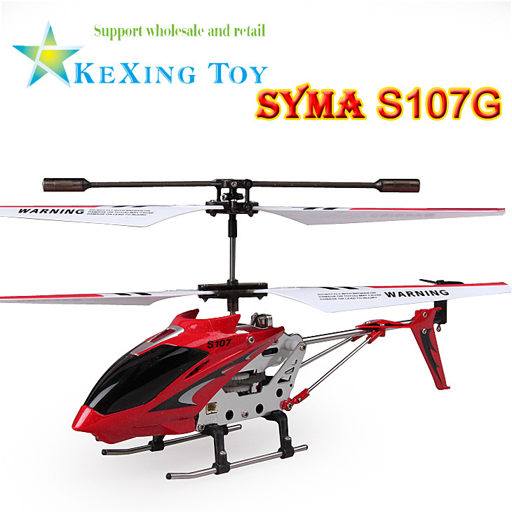 Free Shipping Original Syma S107 s107g Metal 3.5CH Mini radio remote control RC Helicopter drone with gyro flying toys(China (Mainland))