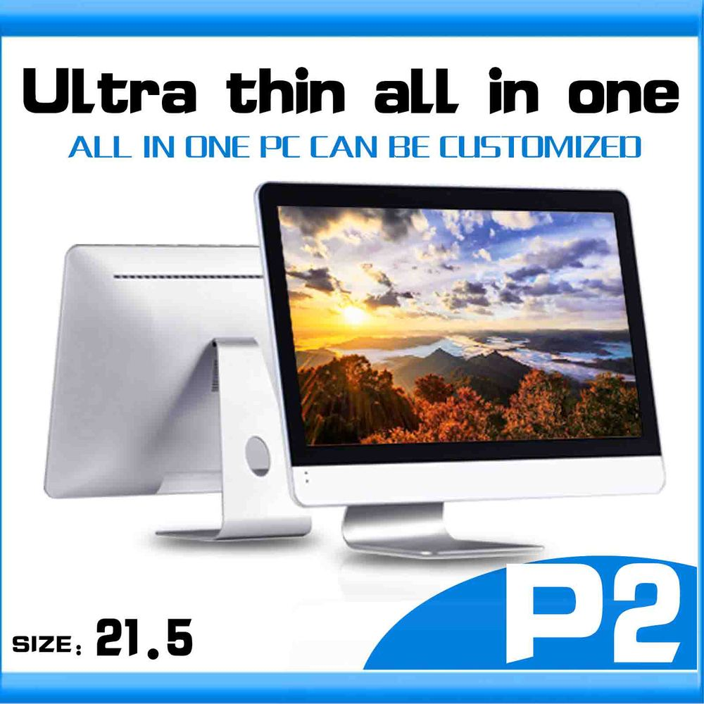 Embedded thin client P2 Core i3-3240 dual core computer table linux all-in-one pc desktop pc 4gb ram 500gb HDD all in one pc(China (Mainland))