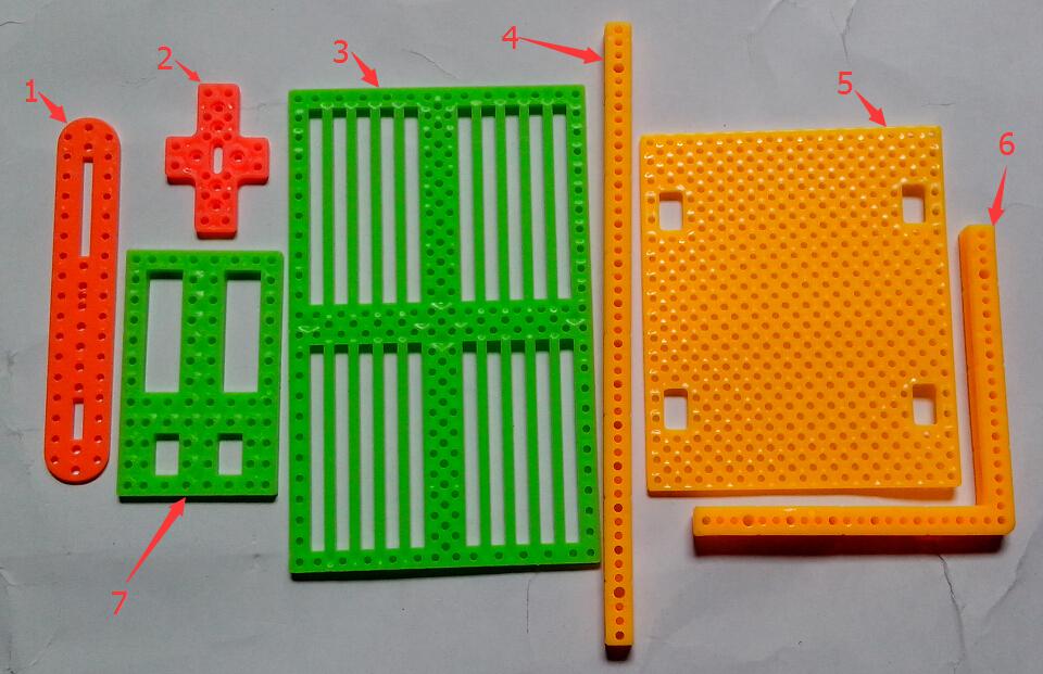 Запчасти и Аксессуары для радиоуправляемых игрушек 35pcs 7