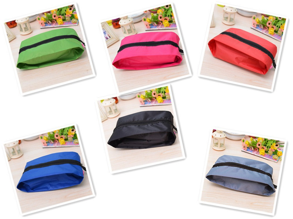 Free Shipping!Top-quality Hot 5pcs/lot wholesale price women's travel storage bag colorful shoes storage holder easy live show(China (Mainland))