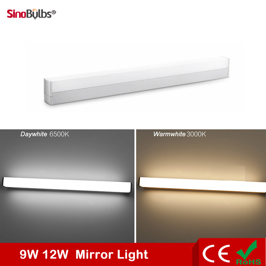 Modern Style Design 85-265V 10W length 420mm 15W length 560mm LED Mirror Light Wall Lamp Bathroom lamp Cabinet lamp(China (Mainland))