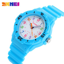 New Skmei Cute Kid Children Watch Fashion Casual Watches Quartz Waterproof Time Clock Hours Wrist Watch For Boys Girls Students