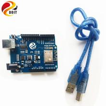 Buy Offiicial DOIT ESPDuino=WiFi + UNO R3 Compatible Arduino Development Board ESP 8266 ESP-13 DIY RC Toy Remote Control for $8.30 in AliExpress store