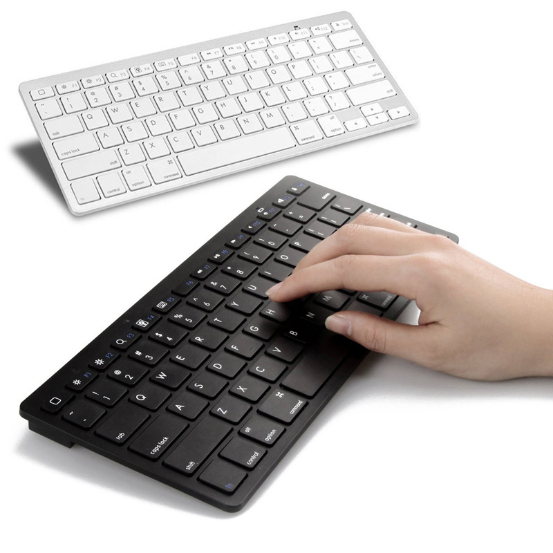 1 Piece Ultra-slim Wireless Keyboard Bluetooth 3.0 For Apple iPad/iPhone Series/Mac Book/Samsung Phones/PC Computer HB88(China (Mainland))