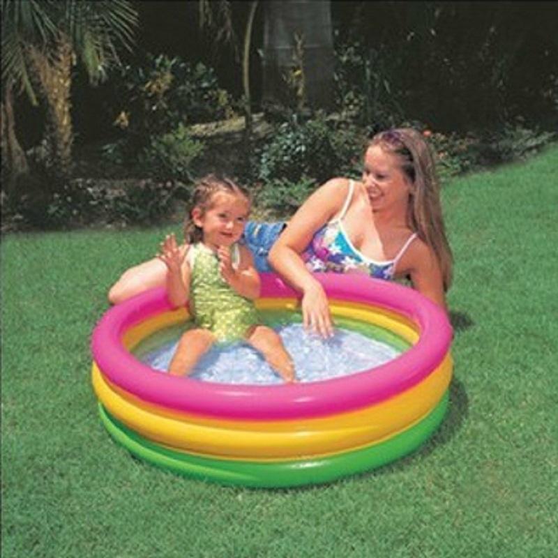 INTEX Inflatable Swimming Pool inflatable pool Baby Kids children ball pool Bath basin Summer baby swimming pool INTEX57402(China (Mainland))