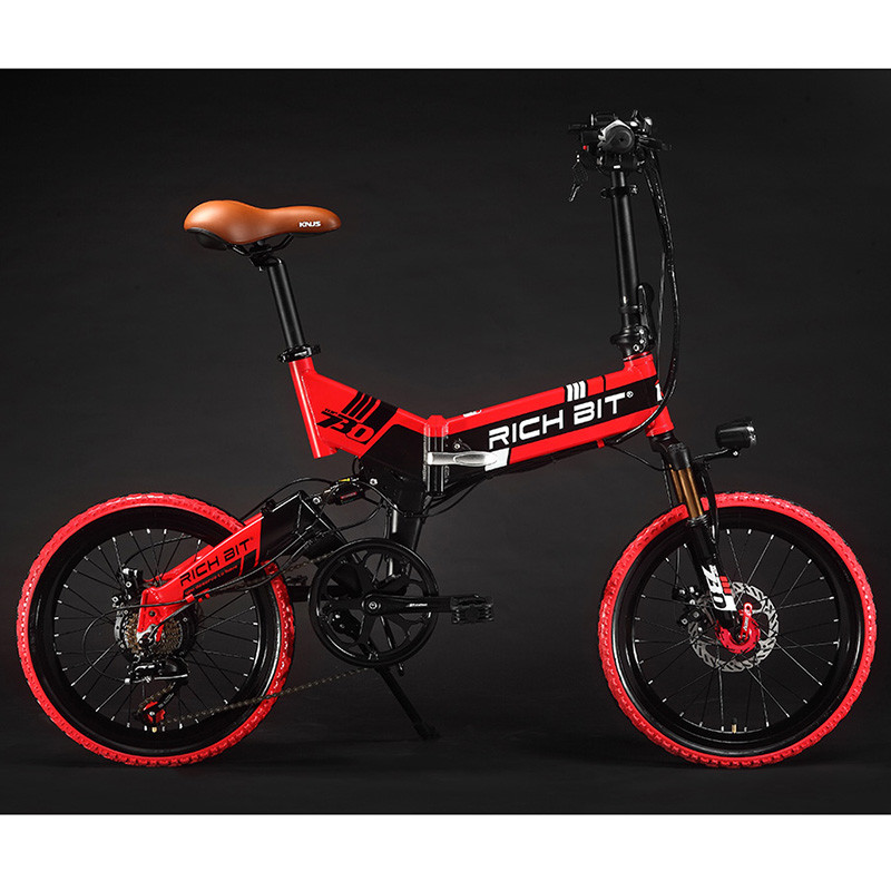 Folding Electric Bike 7 Speeds 48V 8AH Hidden Battery