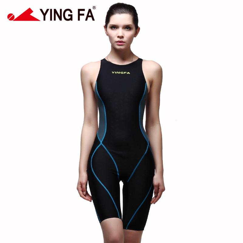 Yingfa VaporWick one piece competition kneeskin waterproof chlorine low resistance womens swimwear sharkskin swimsuit<br><br>Aliexpress