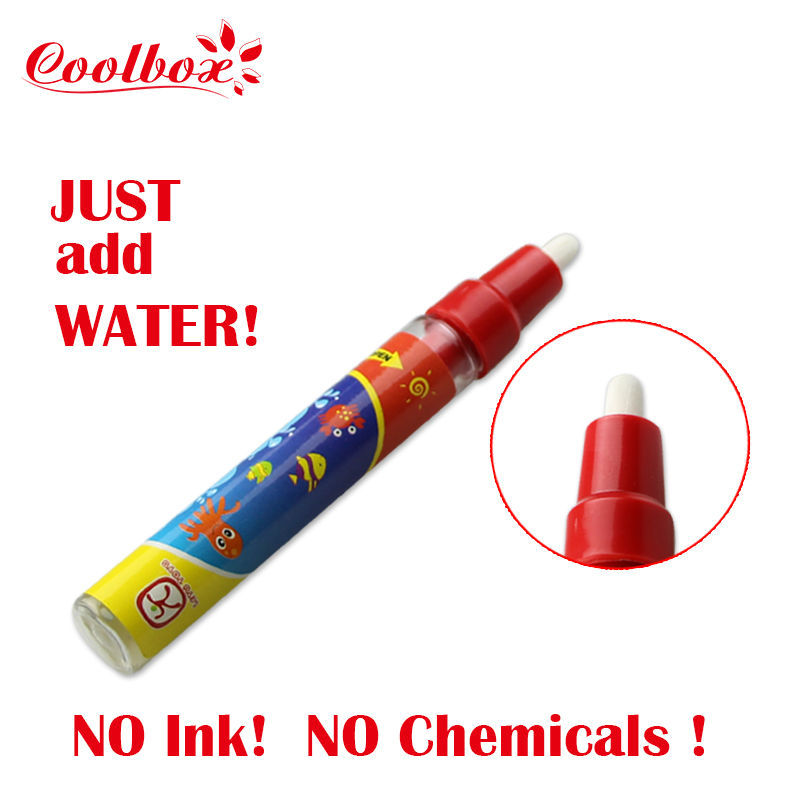 Coolbox 1pcs Magic water Pen/ Aquadoodle pen/Free shipping dropping(China (Mainland))