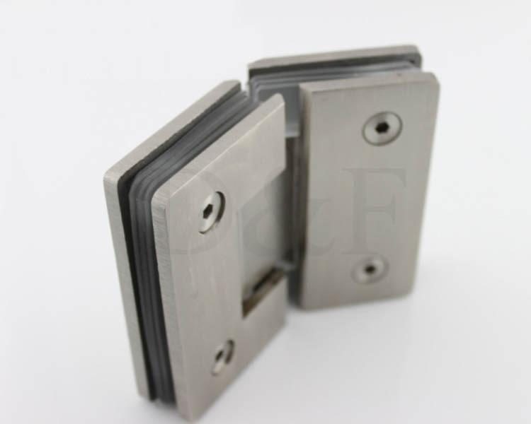 Stainless steel wall mount glass showe hinge