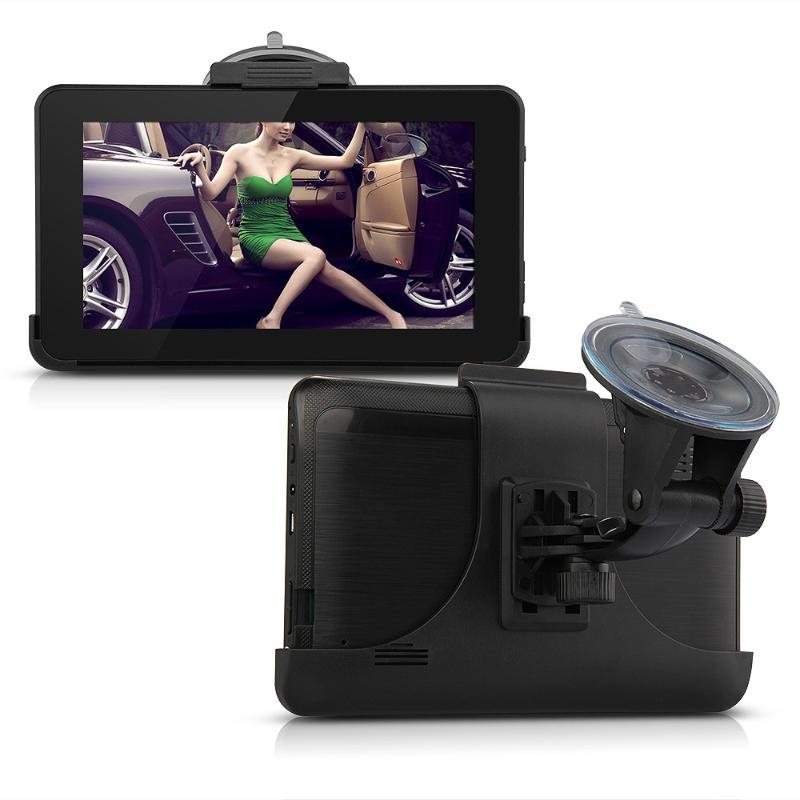7 Inch TFT LCD Touch Screen Car GPS Navigator Android Tablet Navigation Europe Map 512MB 8G 1GHz FM MP3 Video WIFI