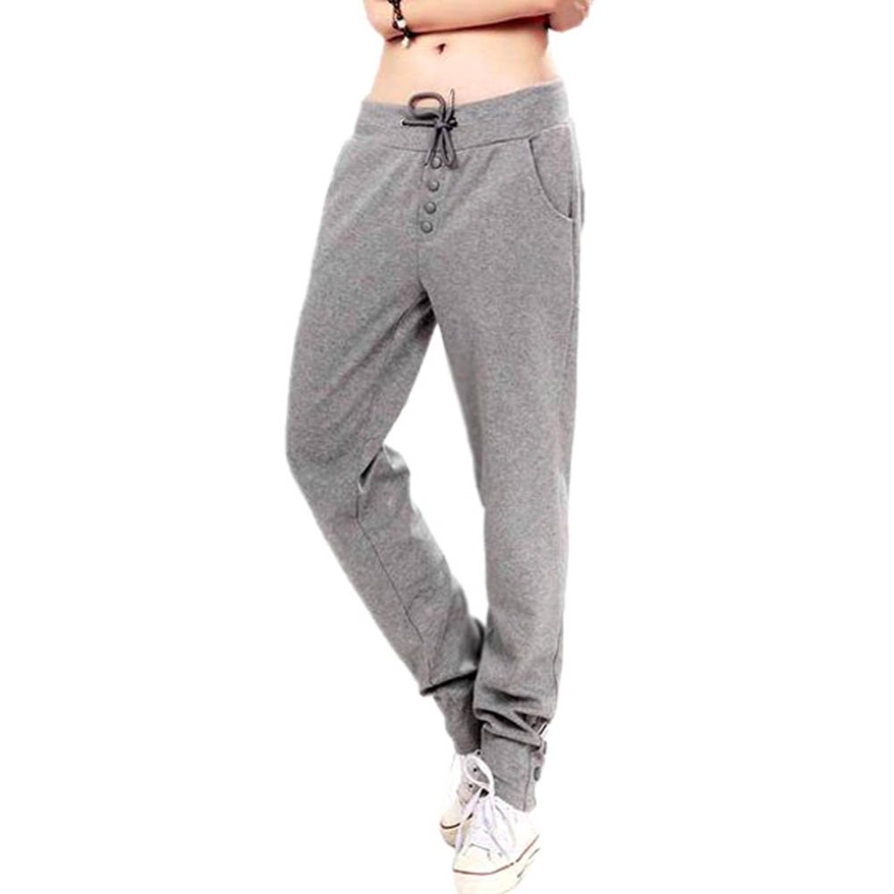Women Harem Haroun Long Gym Sportwear Warm Sports Pants Trouser With 3 color For Hot Selling(China (Mainland))