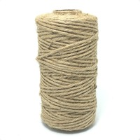 About 1.5MMX60m/roll Natural Jute Twine 3 Ply Hemp Cord Rope Jute Rope For Craft Packaging MS16051903