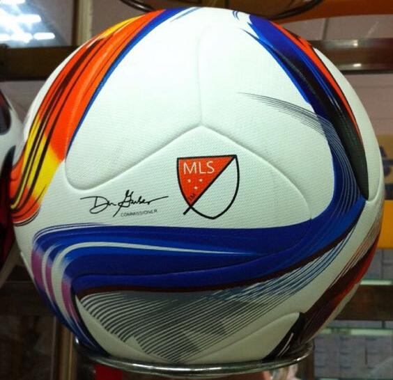 New American league ball MLS soccer ball football ball TPU granule slip-resistant size 5 high quality(China (Mainland))