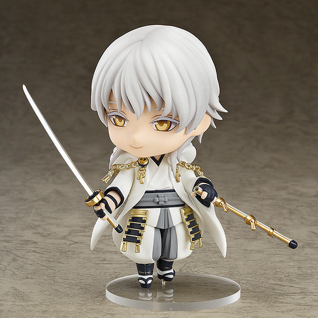 1pcs Touken Ranbu Online Tsurumaru Kuninaga kogitsunemaru 540 Nendoroid PVC Action Figure Collection Toy 10cm(China (Mainland))