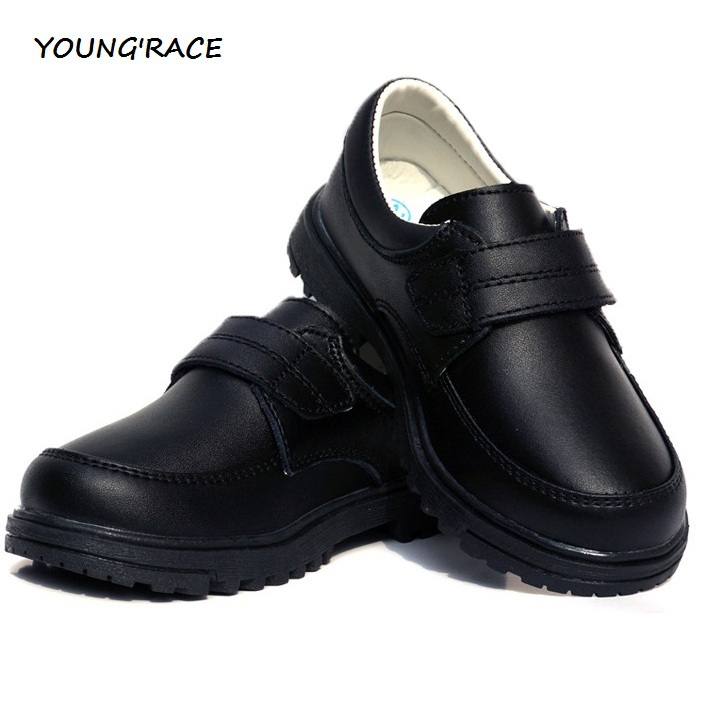 2015 Brand New Children Leather Wedding Dress Shoes for Boys Brand Kids Black Soft PU Wedding Shoes Boys Sports Sneakers, S004(China (Mainland))