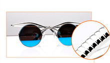 Special Steampunk Adjustable Round Sunglasses