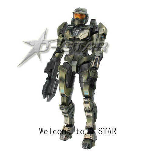Free Shipping Halo Master Chief Action Figure Toy
