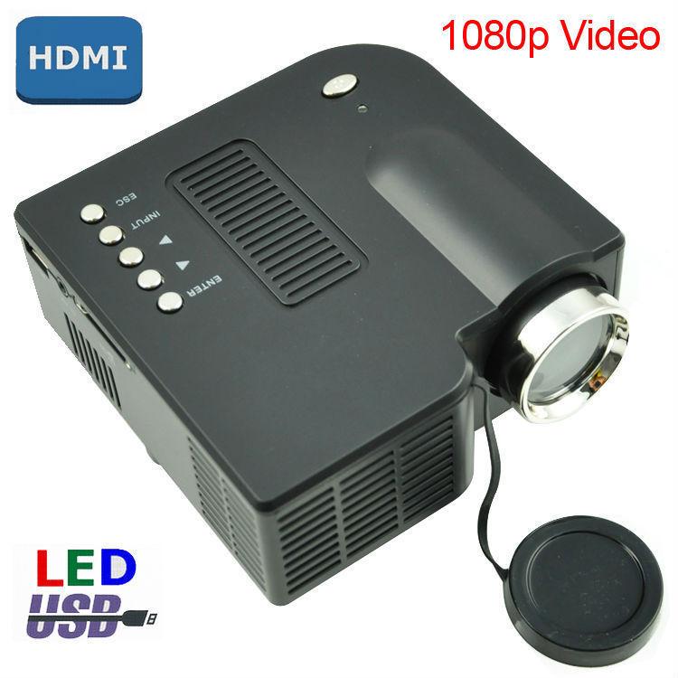 Led mini digital projector uc28 home theater with hdmi usb for Mini digital projector