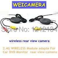2.4G WIRELESS Module adapter 2.4G wireless receiver for Car Monitor back up Reverse Rear View Camera 2.4G wireless transmitter(China (Mainland))