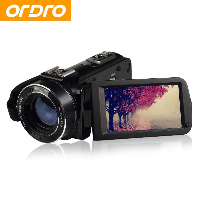 ORDRO HDV-Z20 Full HD 24MP Reflex Digital Photo Cameras 16X Video Recorder Mini Wifi APP Control Camcorders(China (Mainland))