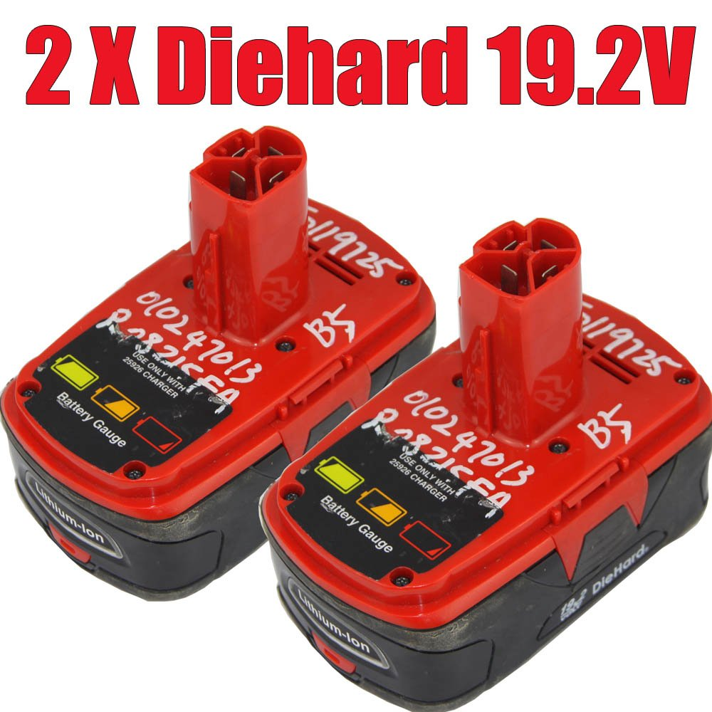 Hot selling Diehard 19.2V Lithium-Ion power tool Battery Craftsman for Power Tool (Free Shipping) 2015(China (Mainland))