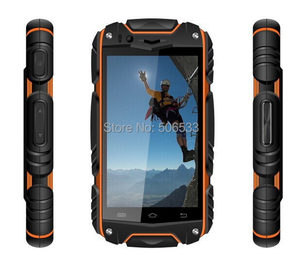 Discovery V8 4.0 inch Smart Phone Android 4.2 MTK6582 Dual core cell phones Waterproof Dustproof Shockproof 2 SIM WIFI(China (Mainland))