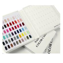 Nail Color Card Chart Gel Nail Polish Color Display Box 120 Color Model Salon Nail Shop Dedicated(China (Mainland))
