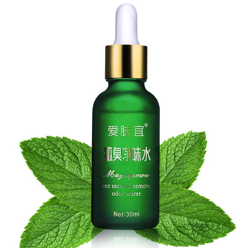 30ml Magic Remove Body Odor Water Cleaner Antiperspirant Deodorant Fragrance Perfumes Women Remove Body Odor Water(China (Mainland))