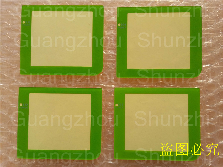Plastic Screen Lens with Lamp Hole for Gameboy Pocket GBP Repair Accessories Part 30pcs/lot Free Shipping(China (Mainland))