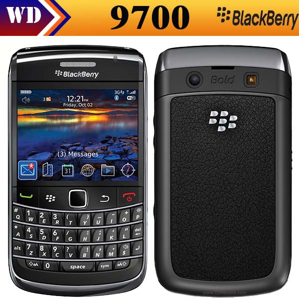 Free shipping Original BlackBerry Bold 9700 Unlocked Mobile Phone 3G Smartphone 3.2MP Camera Quad-Band GPS WIFI(China (Mainland))
