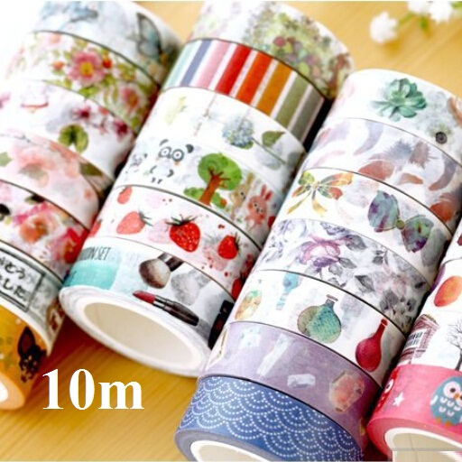 10m/NEW Vintage Japan Small Life series DIY paper tape/High quality Adhesive Tape/Multifunction/office school supplies/Wholesale<br><br>Aliexpress