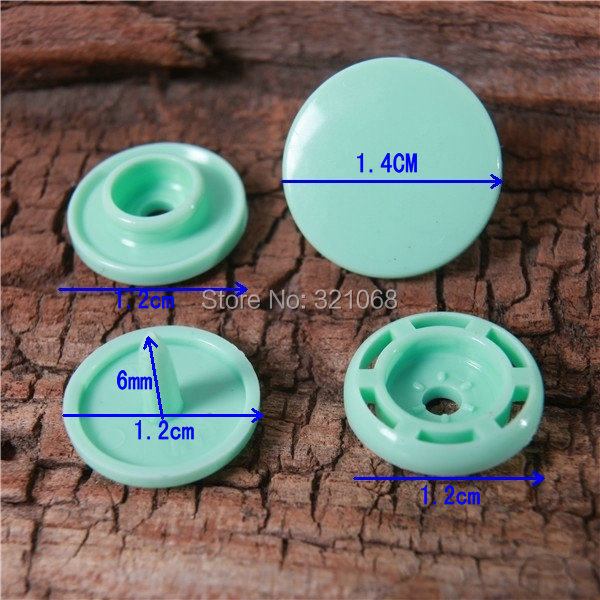 2014 KAM T3 T5 T8 plastic snap buckle 52 mixed color resin snap fastener installation tools