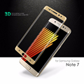 Wholesale 10pcs For Samsung Galaxy Note 7 Tempered Glass Phone Front Screen Protector 3D Curved Edge