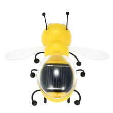 Solar Toy Cute Bee Solar Powered Energy Robot Toys For Children Kids Educational Toys Gift(China (Mainland))